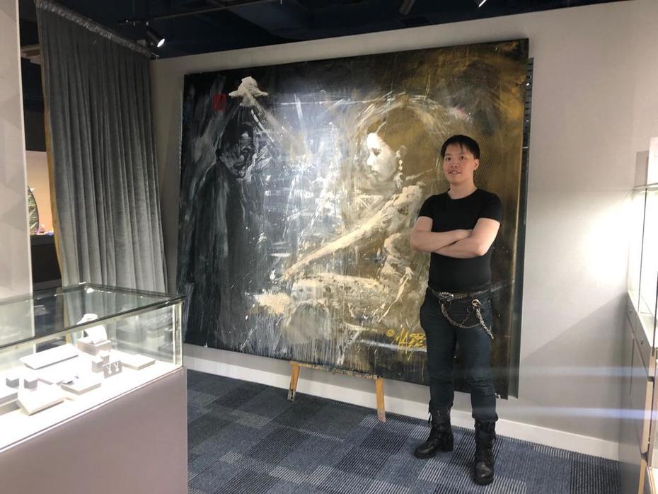 Ruan Lingyu by Artist Michael Andrew Law Cheuk Yui (香港畫家羅卓睿)