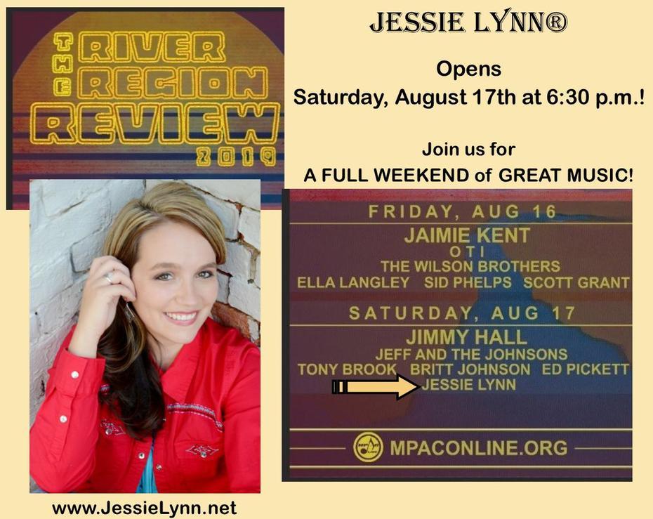 Jessie Lynn at River Region Review