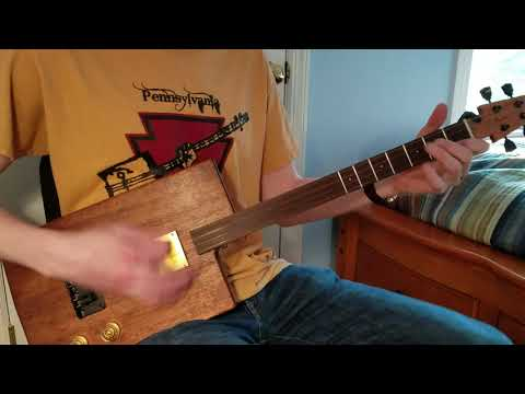 C.Baron Solid Body Tenor Guitar Demo