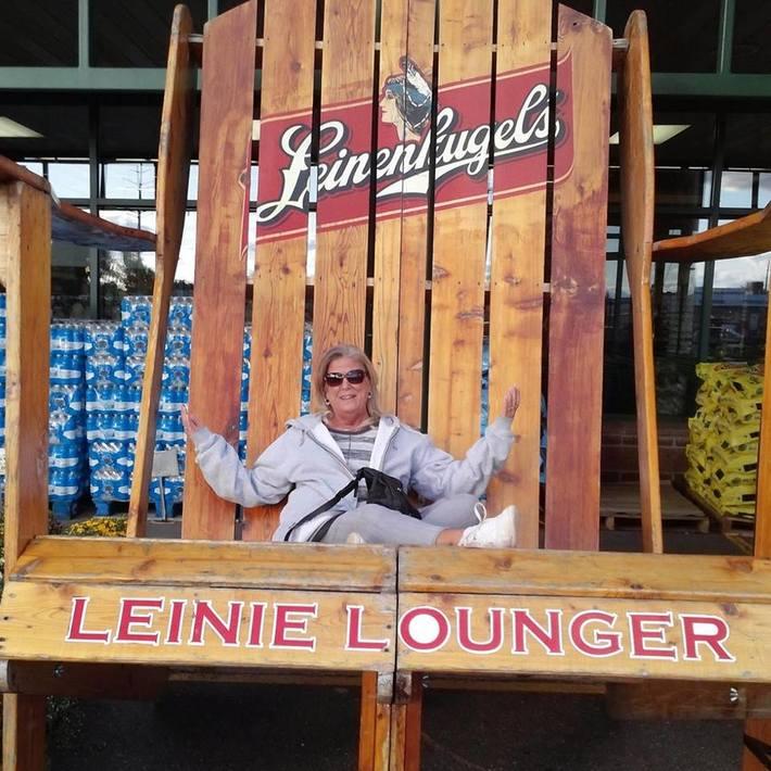BIG Adirondack chair