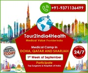 Tour2India4Health Held Medical Camp in Doha, Qatar and Sharjah - Book Your Seat