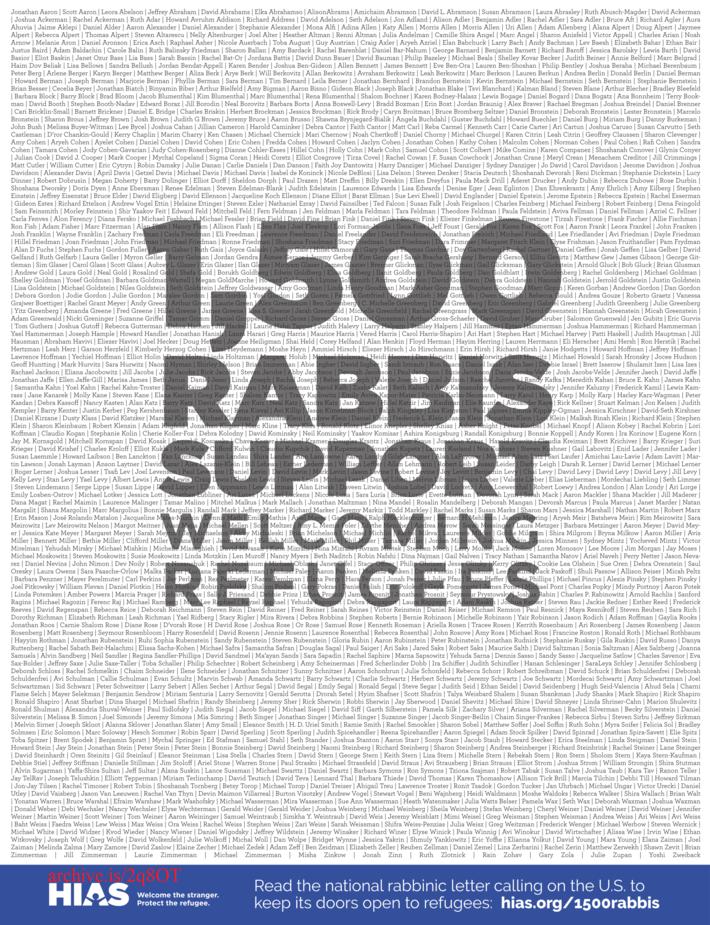 1500 Rabbis