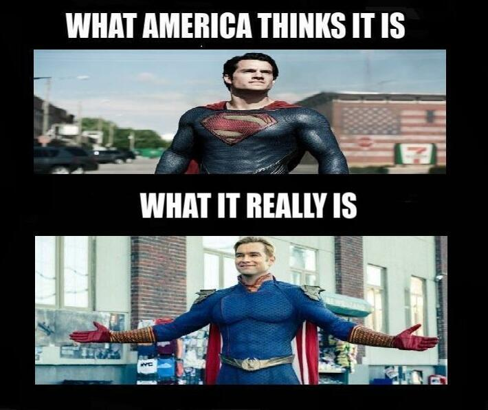 What America Thinks It Is