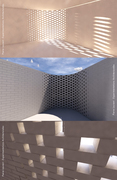 Light in the fold - Parametric brick wall - 02
