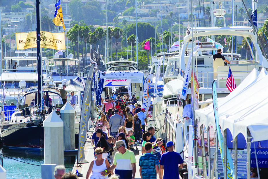 LA Harbor Boat Show Docks at Cabrillo Way Marina, Sept 19-22