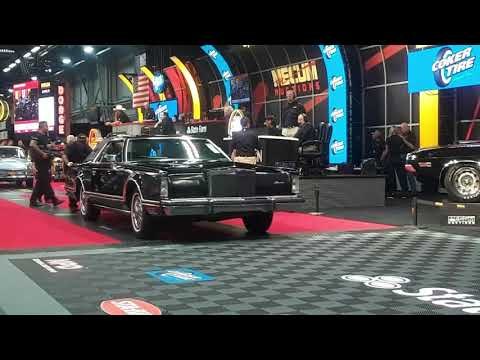 1979 Lincoln MkV  Lincoln's Mark On Personal Luxury At the 2019 Mecum Harrisburg