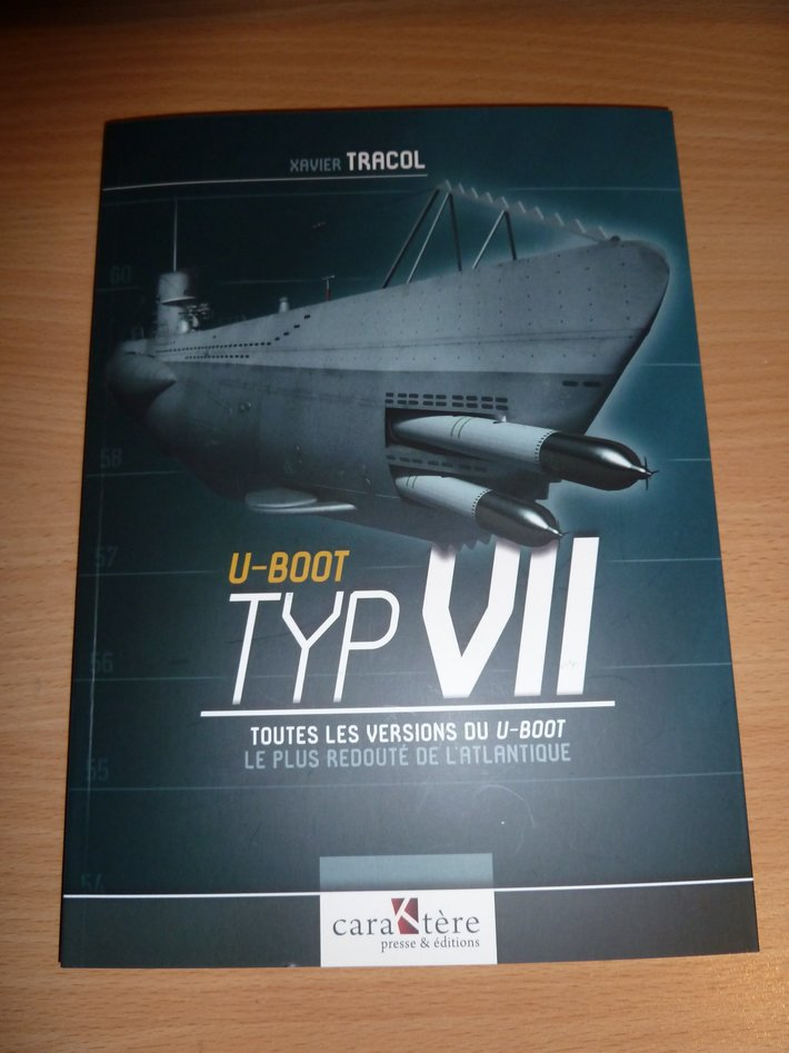 U-Boot Typ VII, by Xavier Tracol