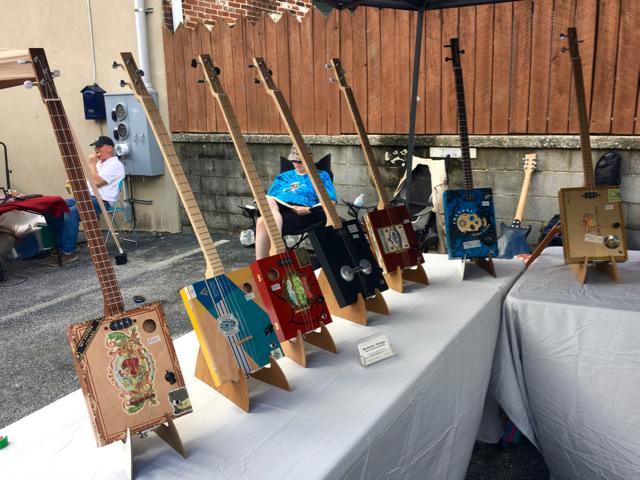 Berkeley Strings booth