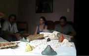 Kaweiro blesses Cuba PDJ staff wood 2016