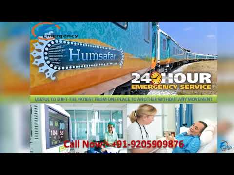 Falcon Emergency Train Ambulance in Delhi and Kolkata   Get Quick and Best Relocation