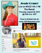 Jessie Lynn Live on WUCZ 104.1 FM The Ranch