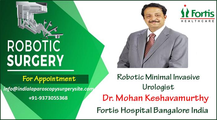 Dr Mohan Keshavamurthy Offers A Smart New technique through Robotic Urology Surgery for urological disorders