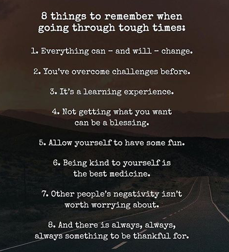 8 things to learn to keep to move forward