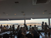 Evening restaurant views near Tibidabo