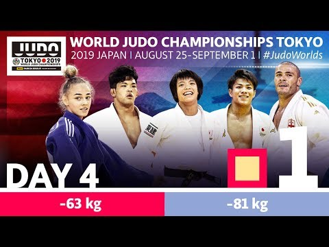 World Judo Championships 2019: Day 4 - Elimination