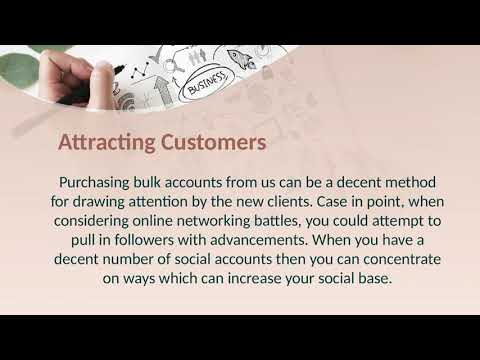 What is the benefit of buying bulk Gmail accounts?
