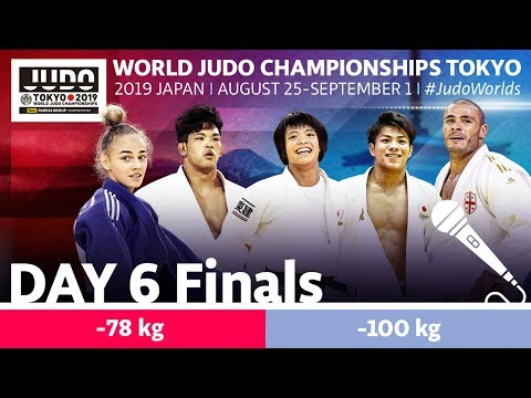 World Judo Championships 2019: Day 6 - Final Block