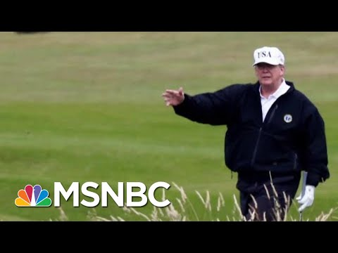 Military Flight Redirected Trump's Turnbery Resort Scotland MSNBC