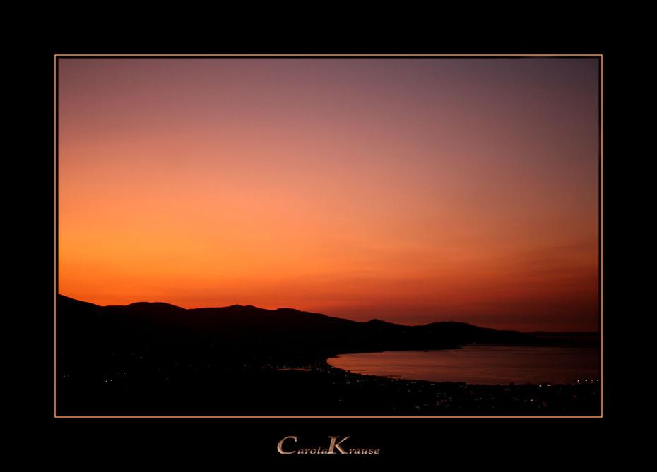 Overwhelming Evening Sky