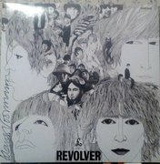 Klaus Voormann signed The Beatles Revolver Album.