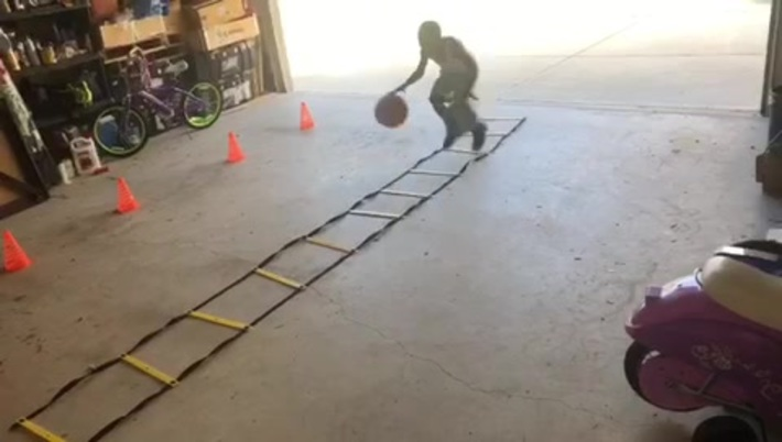 Two balls ladder drill