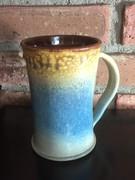 Soft Blue on a Big Mug