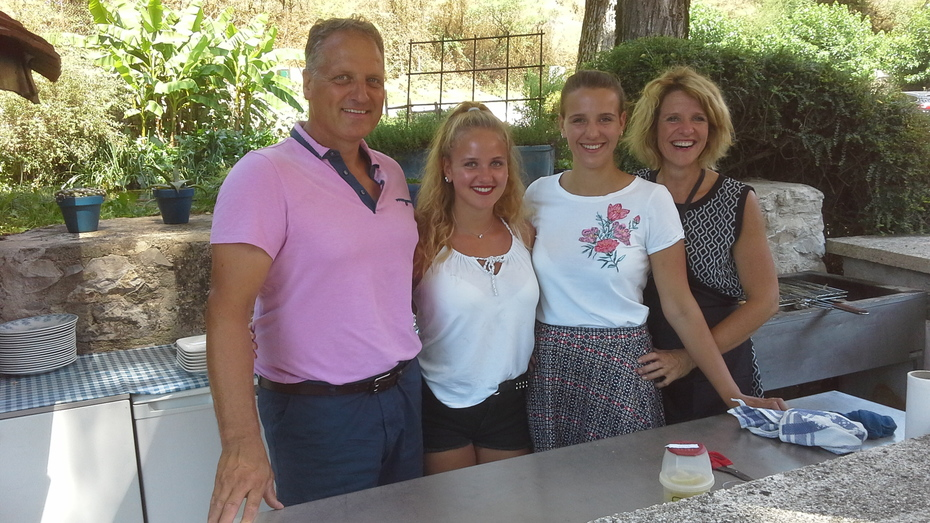Familie Dinkla Nederlanders in Frankrijk