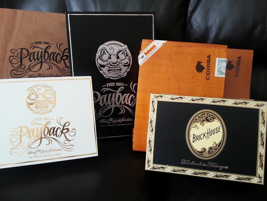 Cigar box collection 09-2019