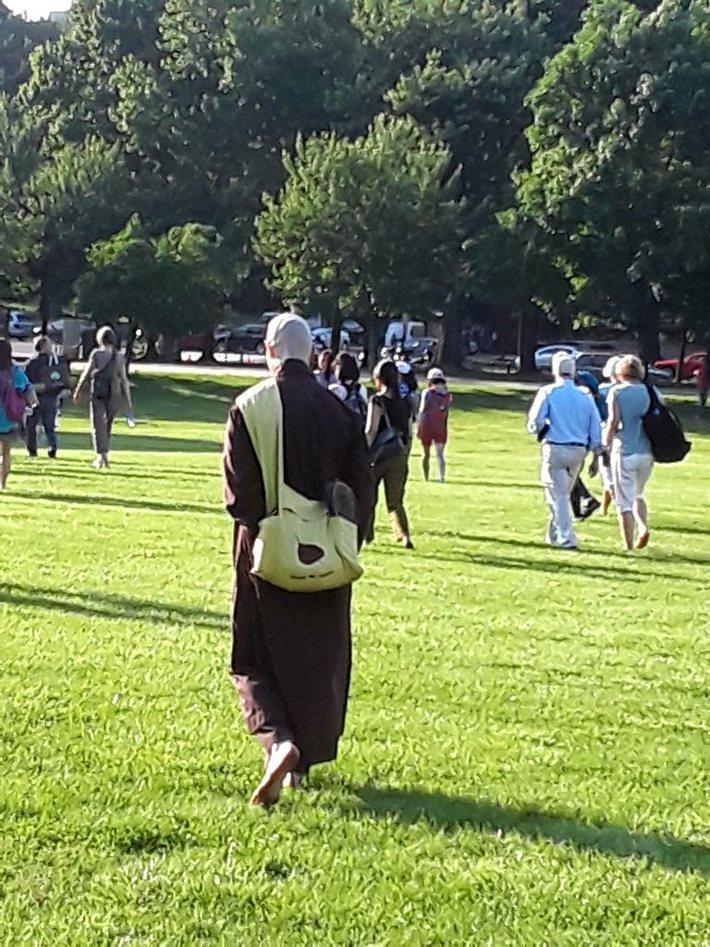 Thich Nhat Hahn Walk for Peace Wash DC
