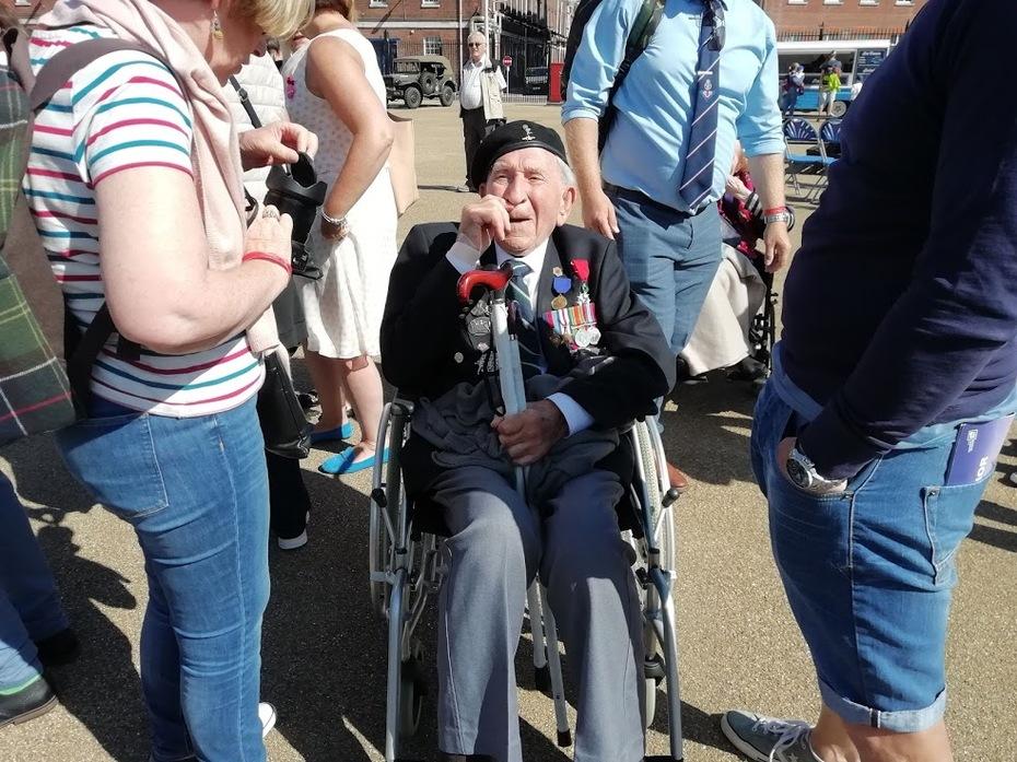Thank you to a Veteran