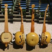 Gourd banjo uke #21