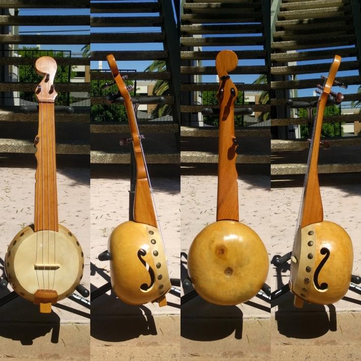 Gourd banjo uke #20