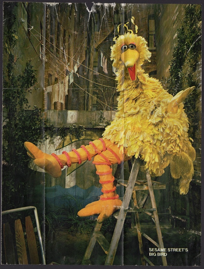 BIG BIRD orig art