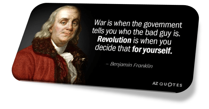 War vs Revolution