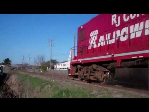 Video I took of the NWP in 2012, the last days of the original tracks and crossing signals.