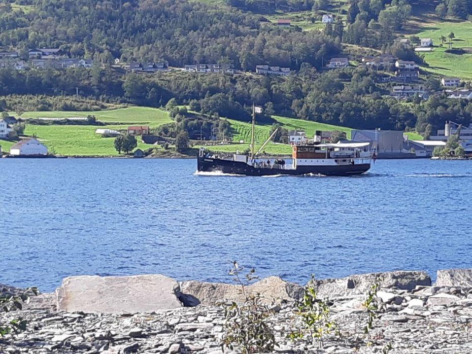 MS Granvin - Hardangerturen, sept. 2019. Foto Atle Vie