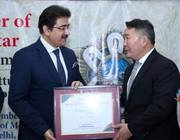 Sandeep Marwah Appreciated by President of Mongolia