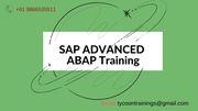 SAP ADVANCED ABAP Training | SAP ADVANCED ABAP Online Training