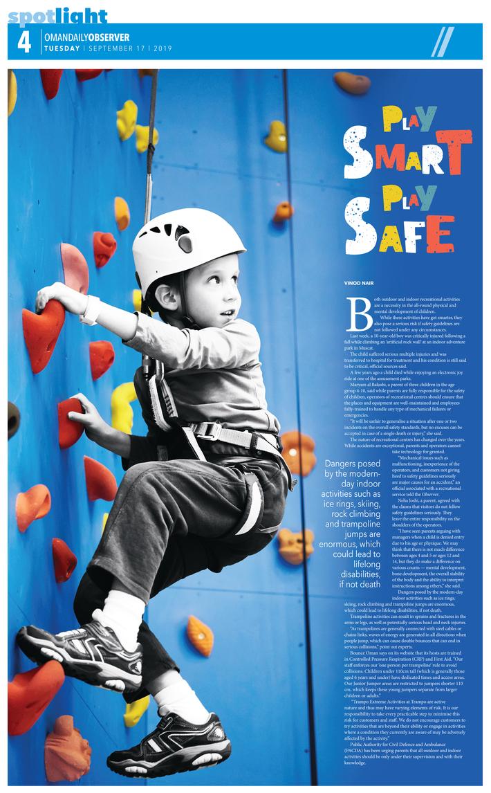 Play Smart Play Safe