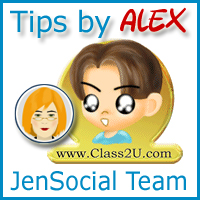 Tips by Alex/JenSocial