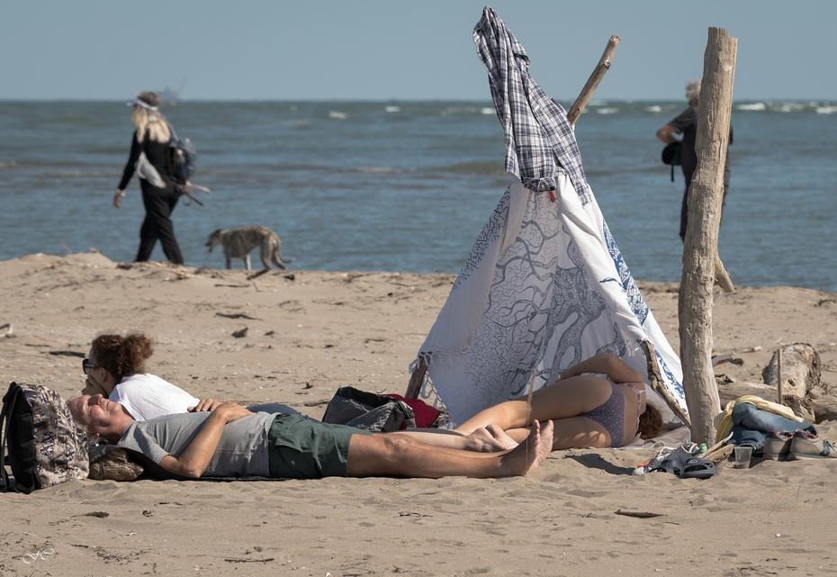 Tipi da spiaggia