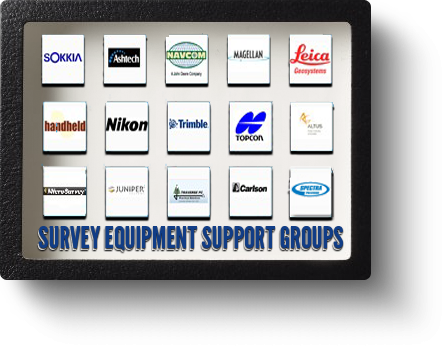 Land Surveyor Equipment Support