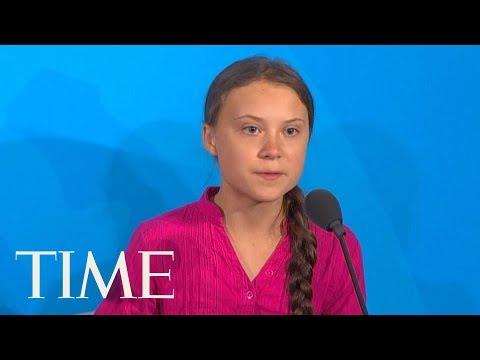 Greta Thunberg Delivers Emotional Speech During U.N. Climate Summit | TIME