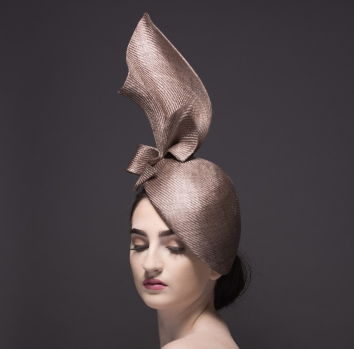 Shard by Donna Hartley Millinery