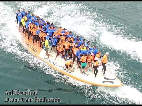 Surf City Epic Big Board Ride  6/20/15