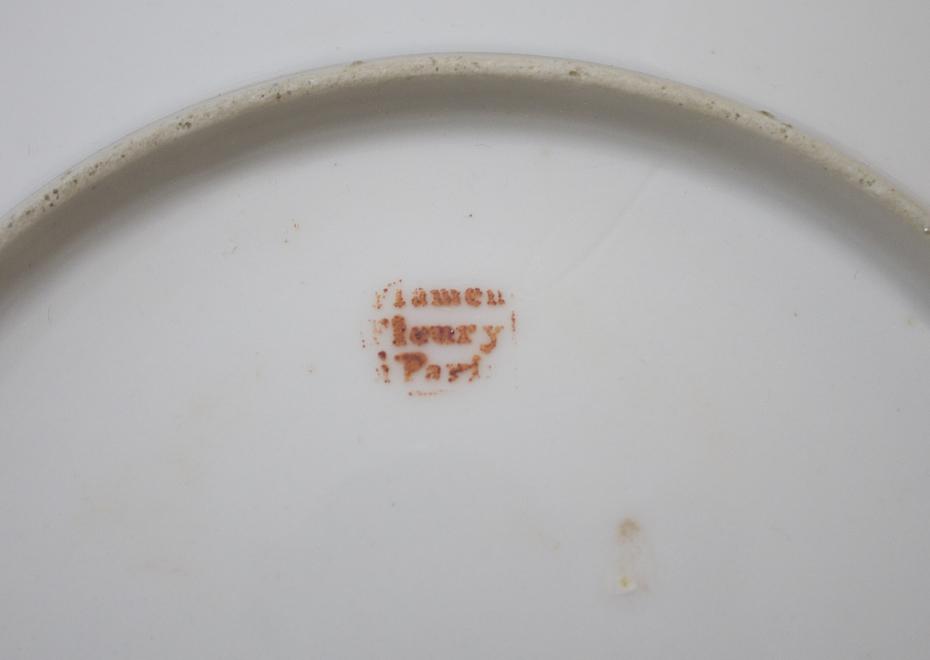 Underside of Plate