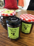 Local apple & pear chutney
