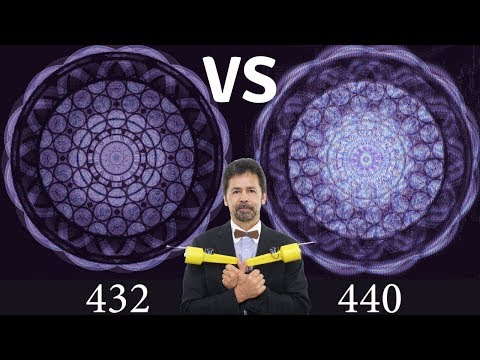 440 Hz vs 432 Hz -  Ultimate Human Energy Field Experiment