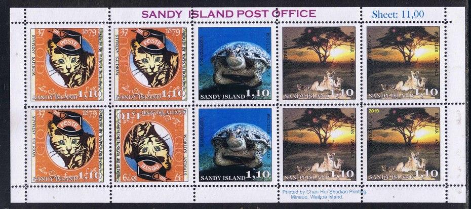 Sandy Island 2019 Peculiar Animals.