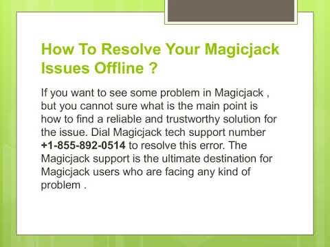 MagicJack Customer Service Number  -: +1(855) 892-0514 MagicJack Customer Care Help Number